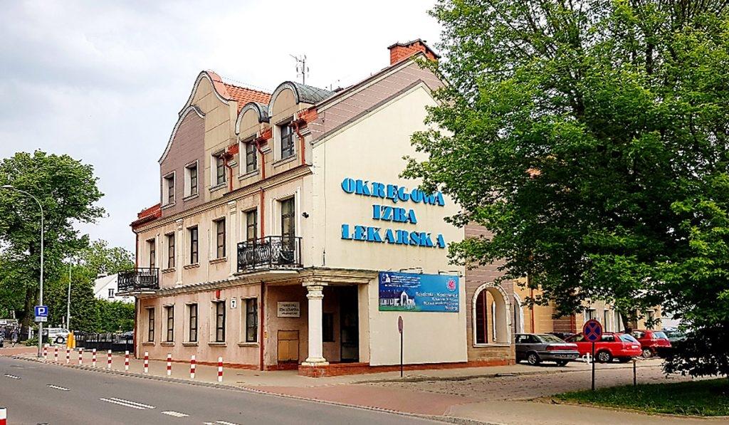 Okręgowa Izba Lekarska w Białymstoku - Siedziba